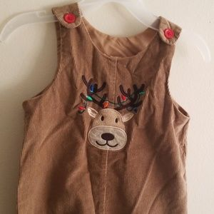 Other - Toddler corduroy reindeer overall
